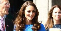 Style Icons - Princess Kate of England / Every bit as stylish as her late mother in law, princess Diana