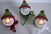 CHRISTMAS CRAFTS / So many wonderful things to make, gifts ornaments etc.. Invite your friends