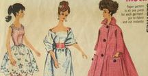Sewing:  Doll Patterns / Patterns for the Fashion Dolls