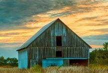 barns and cabins