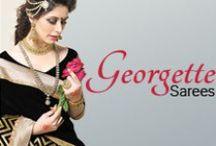 Georgette Sarees