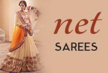 Net Sarees