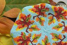 Сумочки из бисера
