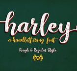 Harley Script / Really excited to introduce Harley Script is a handlettering typeface!