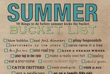 Summer Bucket List / by Alaina Pysher