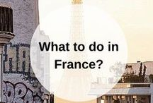 FRANCE guidebook / What to do when you go to France? Pin your own guidebook with all the places to eat, see and visit. Find your France guidebooks here: www.favoroute.com/country/france
