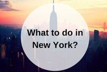 NEW YORK guidebook / What to do when you go to New York? Pin your own guidebook with all the places to eat, see and visit. Find your New York guidebooks here: www.favoroute.com/city/new-york
