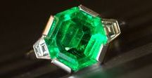 Emerald Jewellery / Stunning unique, Emerald pieces by Rutherford.