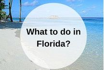 FLORIDA USA guidebook / What to do when you go to the United States of America? Pin your own guidebook with all the places to eat, see and visit. Find your United States guidebooks here:   https://www.favoroute.com/country/united-states