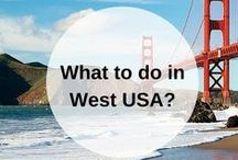 WEST COAST USA guidebook / What to do when you go to the West Coast of the USA? Pin your own guidebook with all the places to eat, see and visit here. Happy travels! www.favoroute.com/country/united-states
