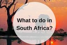SOUTH AFRICA guidebook / What to do when you go to South Africa? Pin your own guidebook with all the places to eat, see and visit here. Happy travels! www.favoroute.com/country/south-africa