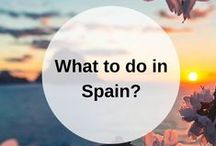 SPAIN guidebook / What to do when you go to Spain? Pin your own guidebook with all the places to eat, see and visit here. Happy travels! www.favoroute.com/country/spain