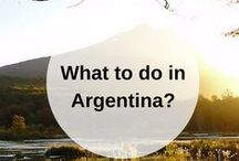 ARGENTINA guidebook / What to do when you go to Argentina? Pin your own guidebook with all the places to eat, see and visit here. Find your Argentinian guidebooks here:  www.favoroute.com/country/argentina