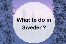 SWEDEN guidebook / What to do when you go to Sweden? Pin your own guidebook with all the places to eat, see and visit here. Happy travels! www.favoroute.com/country/sweden