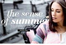 TRENDER - Sense of summer / Inspiration spring/summer 2015