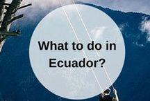 ECUADOR guidebook