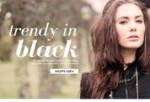 TRENDER - Trendy in black / Trendy in black! #IRO #MarcbyMarcJacobs #MichaelKors