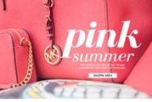 TRENDER - Pink summer / Sommarfärger som alltid går hem! #Missoni #MichaelKors # marcbymarcjacobs #seebychloé