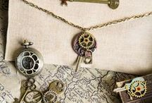 steampunk accessories / steampunk guns, interiors and jewelry