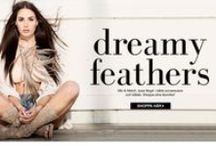 TRENDER - Dreamy feathers / Inspiration http://www.raglady.se/sek/dreamy-feathers/  #fashion # ragladyandtaraonline