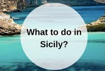 SICILY guidebook / All your favorite tips and tricks for traveling to Sicily, Italy. Find your Italian guidebooks here: www.favoroute.com/country/italy