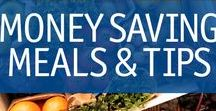 Money Saving Meals & Tips / Meals to keep both your stomach and wallet full. Delicious, budget-friendly recipes that make your family ask for more. Saving money never tasted so good!