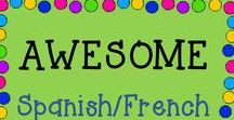 AWESOME Spanish/French Language / This is a collaborative board about the best and greatest from TPT sellers of Spanish or French teaching materials!  Just e-mail me at rozellmail@gmail.com or message me through Pinterest if you'd like to join! Also, please follow my boards and pin items from here to your boards! Let's make this a win-win! Thanks!