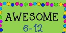 AWESOME 6-12 (any subject) / This is a collaborative board about the best and greatest from TPT sellers of any subject for grades 6-12! Just e-mail me at rozellmail@gmail.com or message me through Pinterest if you'd like to join! Also, please follow my boards and pin items from here to your boards! Let's make this a win-win! Thanks!