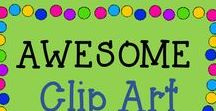 AWESOME clip art and fonts / This is a collaborative board about the best and greatest from TPT sellers of clip art and fonts! Just e-mail me at rozellmail@gmail.com or message me through Pinterest if you'd like to join! Also, please follow my boards and pin items from here to your boards! Let's make this a win-win! Thanks!