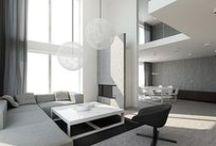 Minimal / modern, edgy, clean design