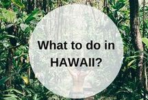 HAWAII guidebook / What to do when you go to Hawaii? Pin your own guidebook with all the places to eat, see and visit here. Happy travels! Looking for a guidebook of MAUI? Find it here: https://www.favoroute.com/guide/1878/preview/discovering-the-beautiful-island-maui