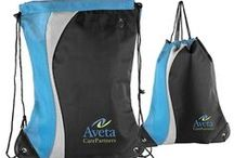 Custom Drawstring & Cooler Bag Ideas / Coolers are great for hot summer days, or to pack lunches in. Makes a great giveaway item for schools or outdoor events!