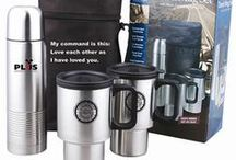 Custom Travel Mug Ideas / No matter if your beverage is hot or cold- the temperature will be maintained in these promotional mugs while your logo is displayed for all to see.