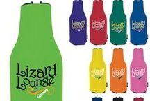 Custom Beverage Holder Ideas / Great for any outdoor event or activity, these beverage and can cooler holders are sure to bring attention to your custom logo!