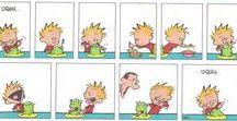 calvin and hobbes / Calvin and Hobbes comic strip