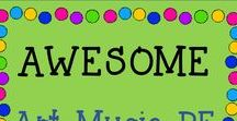 AWESOME Art, Music or PE TPT Resources / This is the place for the BEST Music, Art and PE TPT Resources!