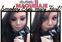 Bloggers - Looks / Preciosos looks de maquillaje de bloggers, algunas de ellas colaboradoras con El Outlet del Maquillaje. ¡Gracias a todas!