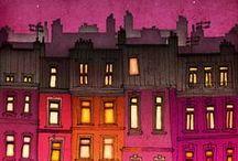city illustrations