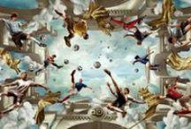 Football Art / by KENICHI KOHNO