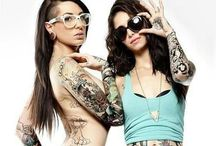 hot girls with tattoos