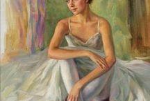 Serguei Zlenko painting