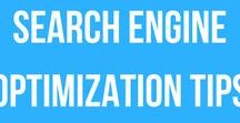 Search Engine Optimization / Tips on ranking in Google and Bing Search Engine Results. // search engine optimization tips, search engine optimization hacks, search engine optimization guide