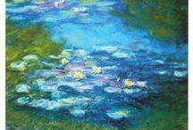 Claude Monet lilies /  Ho voluto laperfezionee ho rovinato quello che andava bene. Claude Monet