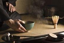 Cha no yu / Pioggia di novembre nella sala da tè sul canale un solo avventore.  Shigururu ya horie no chaya ni kyaku hitori . Akutagawa Riúnosuke