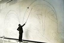 Interior artist / Dipingere è azione di autoscoperta. Ogni buon artista dipinge ciò che è.                                                                       Jackson Pollock