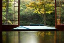 Japanese home /  Vi sono scorciatoie  nel cielo,  luna d'estate?    (Den Sute-jo)