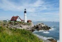 New England Lighthouses / by Newburyport Chamber of Commerce