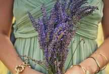 Wedding Theme: Green & Purple / What happens when purple and green come together as a #wedding day colour scheme.
