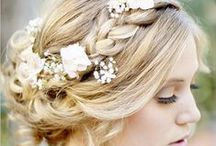 Wedding Hair & Makeup / Beautiful ideas for hair and makeup on your big day!