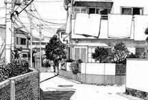 気になるイラスト。 illustrations / ♡ / by 幸子(Sachiko)